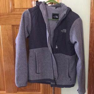Ladies grey North Face jacket